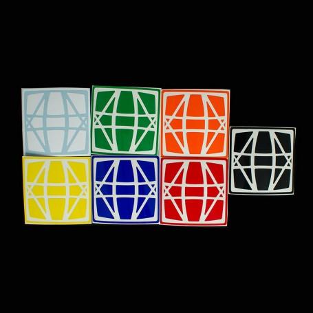Sticker Hexaminx