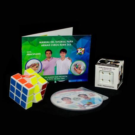 Kit d'Apprentissage Rubik's Cube 3x3