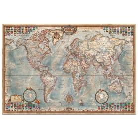 Puzzle Educa El Mundo, Mapa Político 4000 piezas
