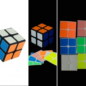 Cubo de Rubik 2x2 Luminoso 6 Colores