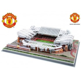 Nanostad - Puzzle 3D Manchester United Old Trafford, 186 piezas