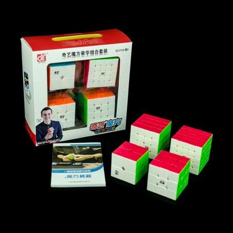 Pack QiYi Iniciación Speed Cubing