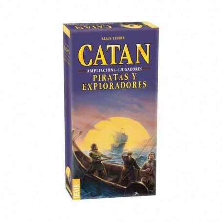 Catán - Piratas y exploradores ampliación 5-6 jugadores