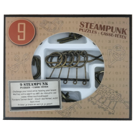 Steampunk Puzzles boîte brune
