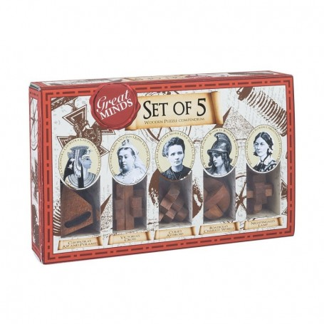 Geat Minds - Set de 5 rompecabezas - Womens