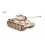 Puzzle eco Wood Art Réservoir T-34 600 Pièces