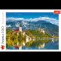 Puzzle Trefl Bled, Slovénie de 500 Pièces