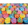 Puzzle Clementoni Cupcakes en couleur de 500 Pièces