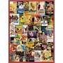 Puzzle Clementoni Classic Romances de 500 pièces