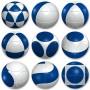 Sphère Marusenko et bleu