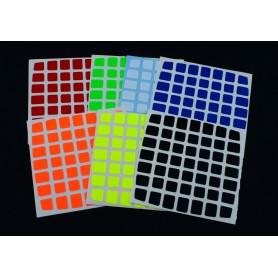 Z-Stickers para Moyu Aofu 7x7