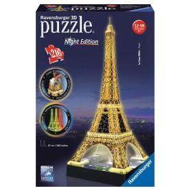 Puzzle Ravensburger Torre Eiffel Noche 3D