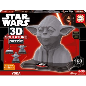 Puzzle 3D Star Wars Yoda