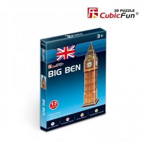Puzzle 3D CubicFun Big Ben 13 Piezas