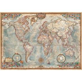 Puzzles Educa El Mundo, Mapa Político 1500 Piezas