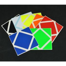 Z-Stickers Skewb