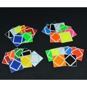 Z-Stickers Skewb