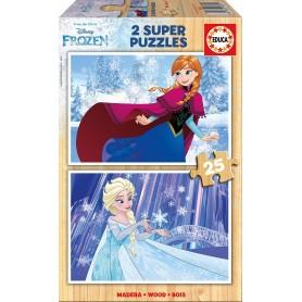 Puzzle Educa Frozen princesas x 25 Piezas
