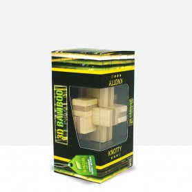 Puzzle Bambú Knotty 3D