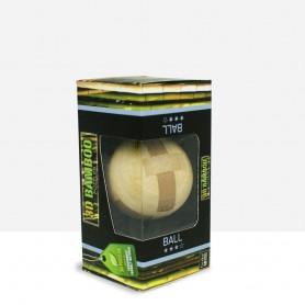 Puzzle Bambú Pelota 3D