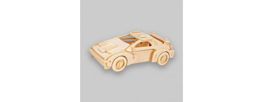 Puzzles 3D en bois