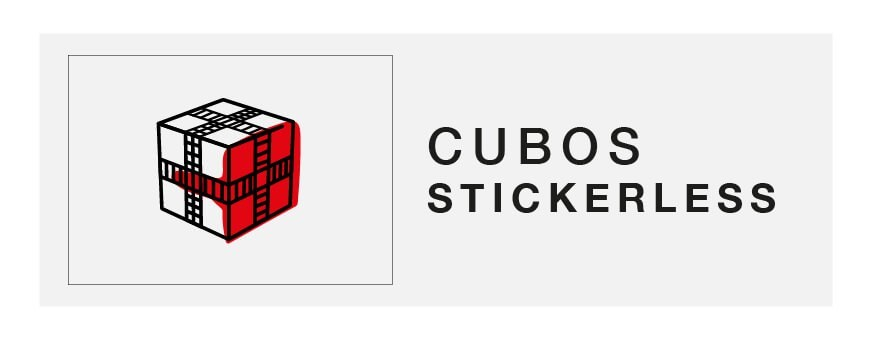 Cubes Stickerless - kubekings.fr